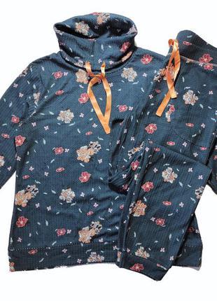 Красивый костюм, в цветочный принт, l 44-46 euro, наш 50-52, esmara3 фото