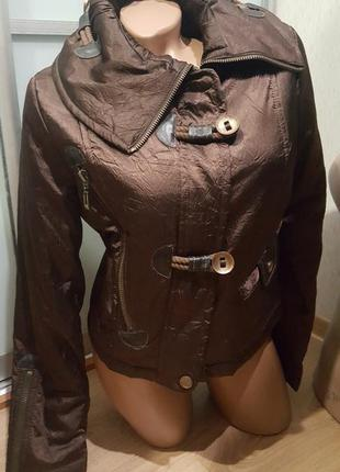 Куртка женская бомбер осень весна демисезон новая6 фото