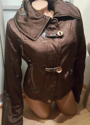 Куртка женская бомбер осень весна демисезон новая1 фото