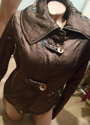 Куртка женская бомбер осень весна демисезон новая5 фото