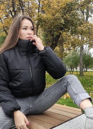 Красивая куртка зефирка3 фото