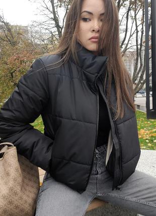 Красивая куртка зефирка4 фото