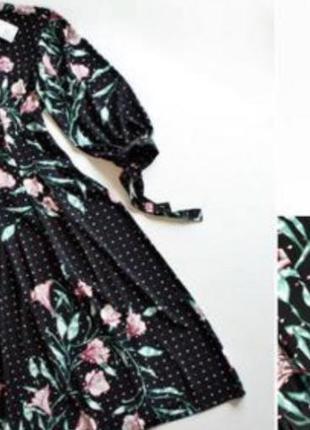 Плаття міді h&m3 фото