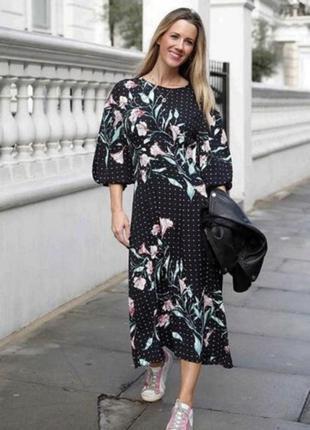 Плаття міді h&m2 фото