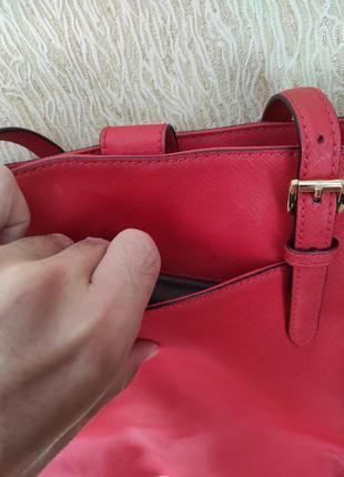 Michael kors сумка натуральная кожа женская оригинал7 фото