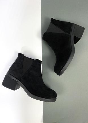 Ботинки нат.замша1 фото