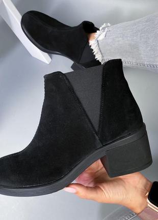 Ботинки нат.замша2 фото