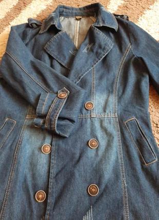 Джинсовая куртка2 фото