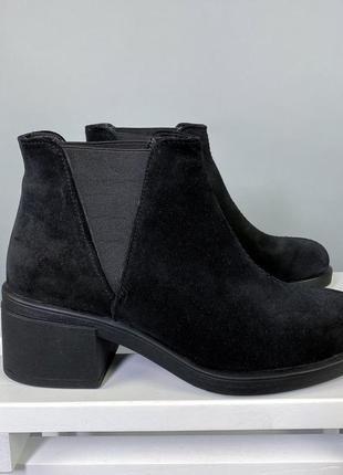 Ботинки нат.замша3 фото
