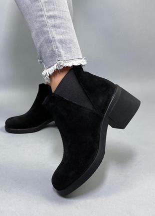 Ботинки нат.замша6 фото