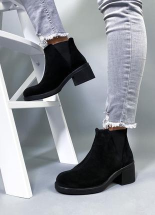 Ботинки нат.замша5 фото