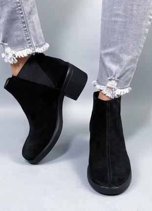 Ботинки нат.замша7 фото