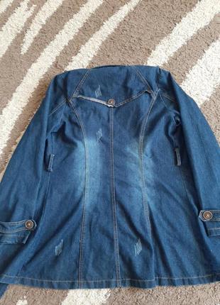 Джинсовая куртка4 фото