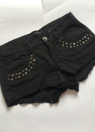 Шорты джинс италия оригинал р.xs