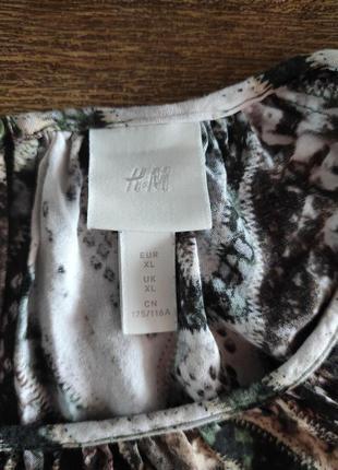 Вискозное миди платье  h&m10 фото