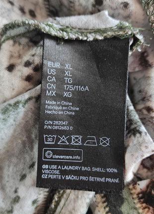 Вискозное миди платье  h&m8 фото