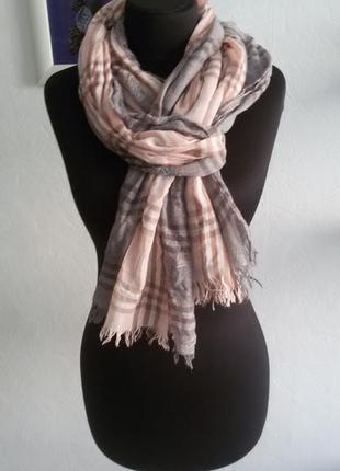 Красивый лёгкий шарф6 фото