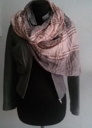 Красивый лёгкий шарф4 фото