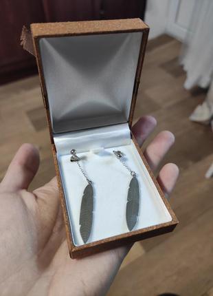 Серебряные серьги2 фото
