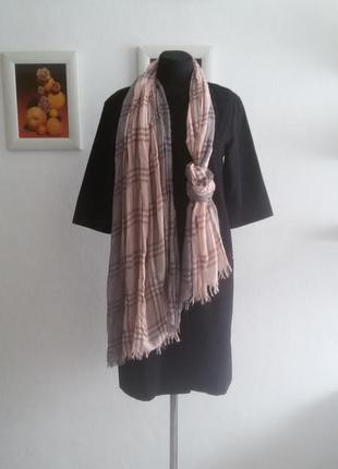 Красивый лёгкий шарф3 фото