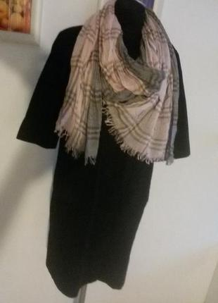 Красивый лёгкий шарф8 фото