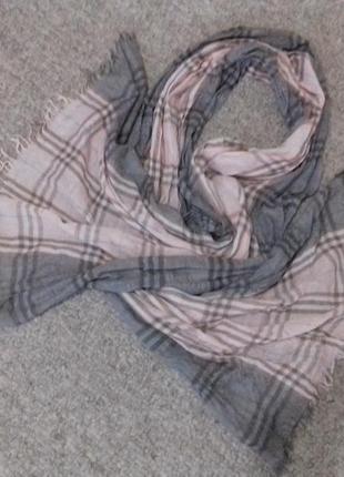 Красивый лёгкий шарф5 фото