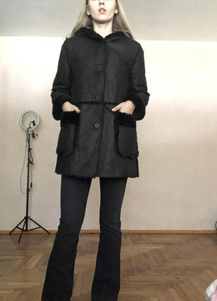 Шуба-дубленка двухсторонняя1 фото
