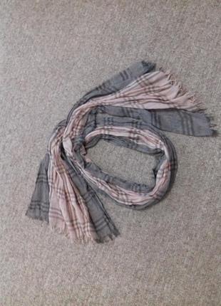 Красивый лёгкий шарф1 фото