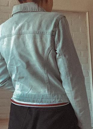 Джинсовый пиджак3 фото