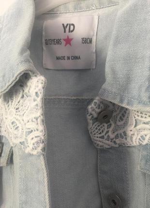 Джинсовый пиджак5 фото