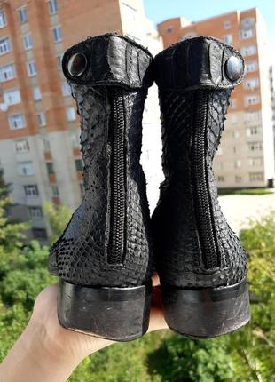 Кожаные ботинки obaibi.3 фото