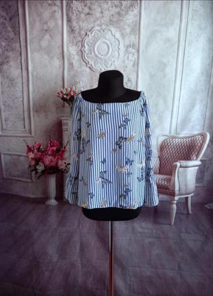 Стильная блузка шифоновая1 фото