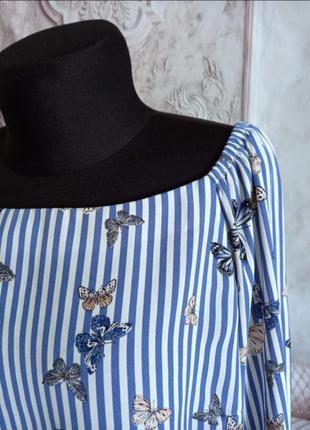 Стильная блузка шифоновая2 фото