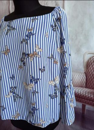 Стильная блузка шифоновая3 фото