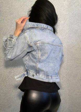 Джинсовые курточки. джинсовка. ддинсовая куртка5 фото