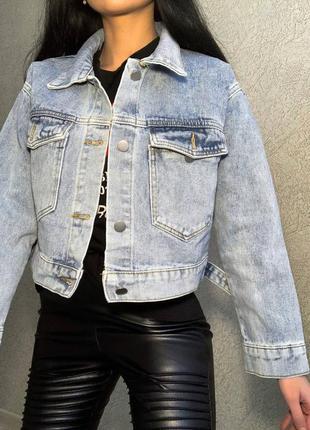 Джинсовые курточки. джинсовка. ддинсовая куртка3 фото