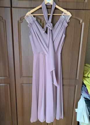 Платье цвет тауп1 фото