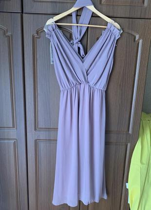 Платье цвет тауп4 фото