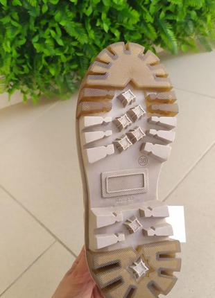 Осінні чобітки з натуральної замші4 фото
