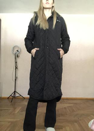 Стёганное пальто-куртка
