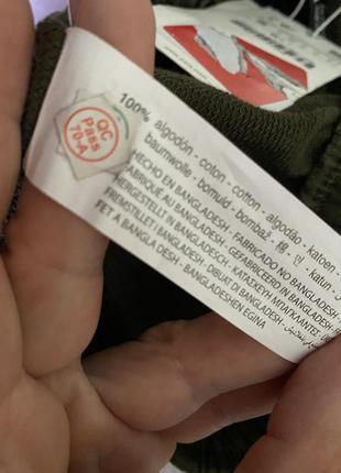 Стильные лосины,леггинсы,брюки с высокой посадкой,талией в гусиную ламку xl  от zara5 фото