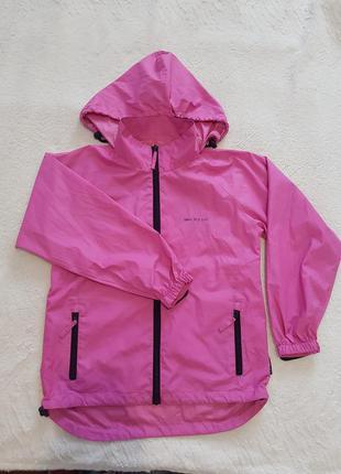 Куртка демисезонная ветровка на девочку с 8-12 лет target dry