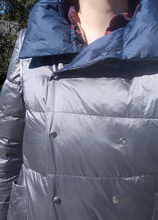 Плащ- курточка пуховий, двосторонній3 фото
