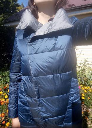 Плащ- курточка пуховий, двосторонній8 фото