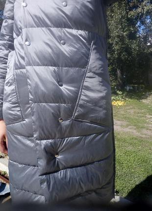 Плащ- курточка пуховий, двосторонній4 фото