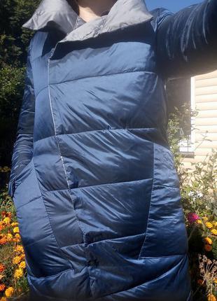 Плащ- курточка пуховий, двосторонній10 фото