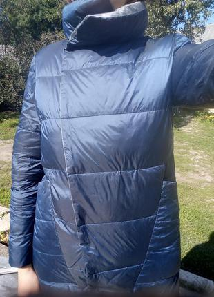 Плащ- курточка пуховий, двосторонній5 фото