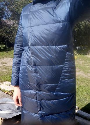 Плащ- курточка пуховий, двосторонній6 фото