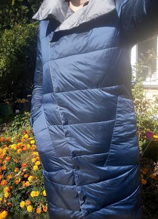 Плащ- курточка пуховий, двосторонній9 фото