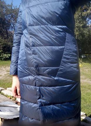 Плащ- курточка пуховий, двосторонній7 фото